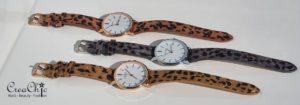 Ernest horloge leopard medium