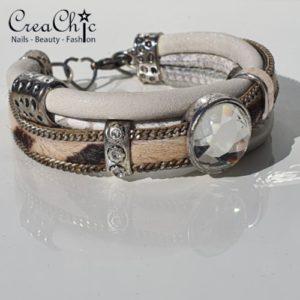 Armband parelmoer diamant