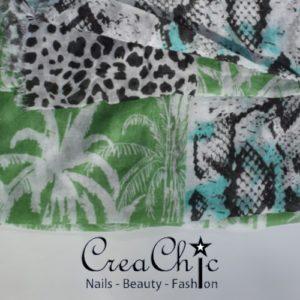 Sjaal animalprint palm
