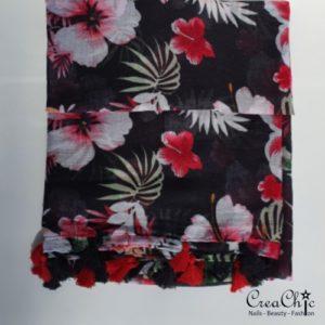 Sjaal jungle flowers