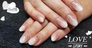 Acrylnagels-babyboom-igel-glitters